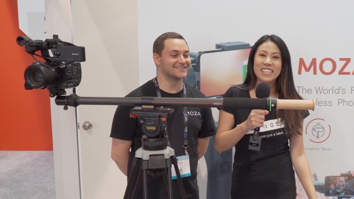 MOZA Announces Slypod, 2-in-1 Motorized Slider & Monopod