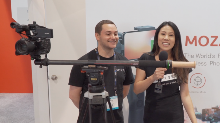 MOZA Announces Slypod, 2-in-1 Motorized Slider & Monopod